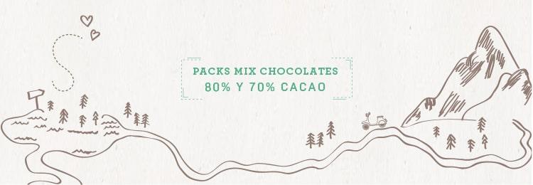 Pack chocolate